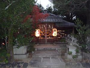 二神が縁を結んでくれる幸神社