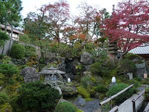 よーじや銀閣寺店の庭園