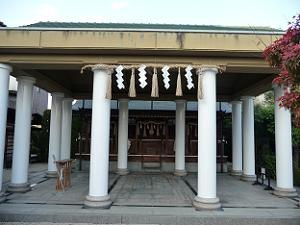 飛行神社の本殿