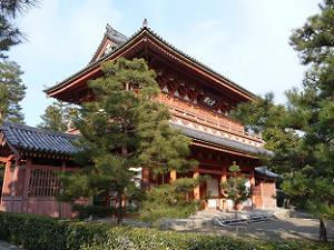 大徳寺の三門(金毛閣)