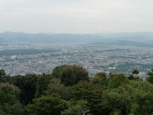 西展望台からの眺め