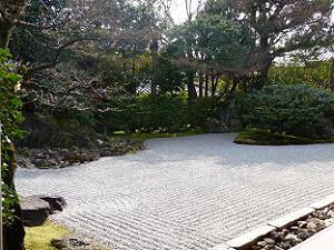 圓徳院の南庭
