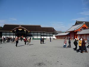 春と秋に特別公開される京都御所