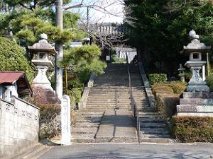 一言寺の入り口