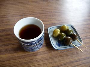 茶だんご田楽 宇治三昧