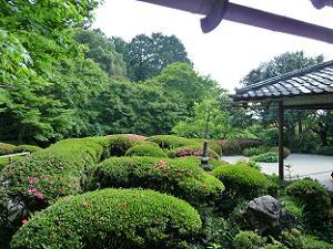 もう一度詩仙の間から庭園を眺める