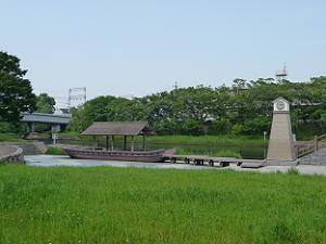 伏見港の跡