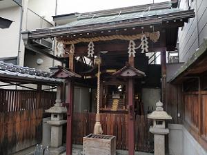下京区の若宮八幡宮