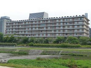 2011年2月閉館のホテルフジタ京都