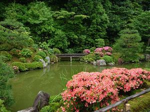 智積院の庭園