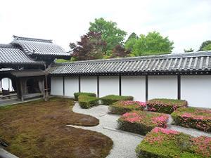 東福寺の西庭