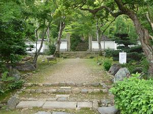 浄住寺の入り口