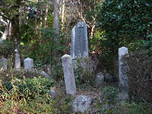 梅田雲浜先生旧跡と刻まれた石碑