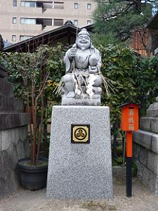 恵美須神社のえびす様