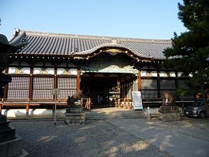 御香宮神社の割拝殿