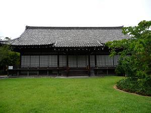 勧修寺の宸殿