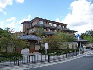 2011年10月にオープンした嵐山の旅館・花伝抄
