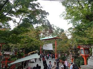 八坂神社の参道