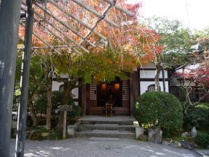 化野念仏寺の本堂