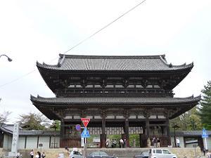 仁和寺の二王門