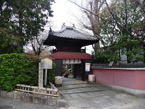 長建寺の入口