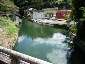 第一疎水第二疎水合流点付近