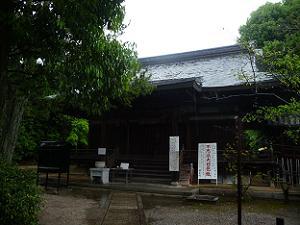 神光院の本堂