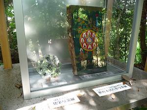 梵字曼荼羅(左)と熊野本宮八葉曼荼羅(右)