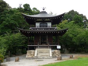 勧修寺の観音堂