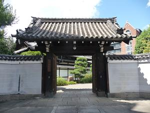 大聖寺の入口