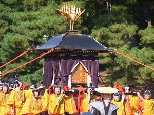桓武天皇の鳳輦