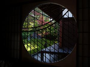 円窓からの眺め