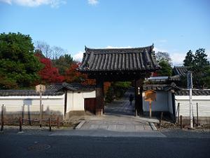 養源院の入口