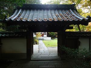 善能寺の入口