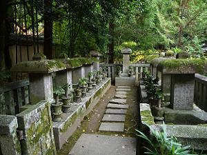 細川家歴代之墓