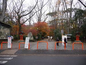 下鴨神社参道入り口