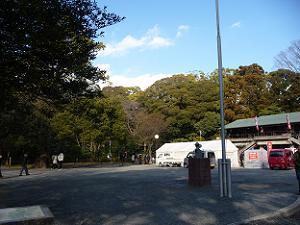 山上駐車場