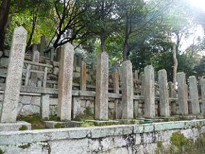 池田屋事件殉難者の墓