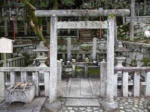 坂本竜馬と中岡慎太郎の墓