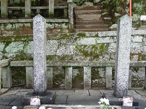 左が坂本竜馬、右が中岡慎太郎