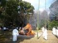 石清水八幡宮の厄除大祭焼納神事・2013年