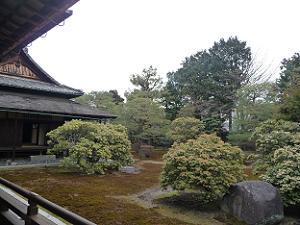 宸殿と本堂の間の庭
