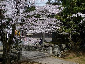 法輪寺の入口