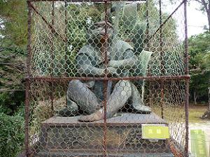 新日吉神宮の神猿
