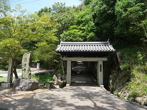 参道の入り口