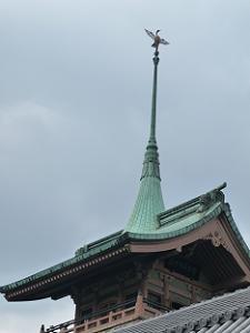 祇園閣の屋根