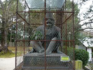 新日吉神宮の猿