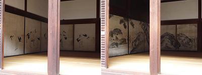 鶴の間(左)と虎の間(右)