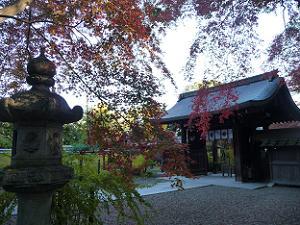 紅葉と神門