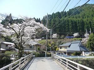 二ノ瀬駅付近の景色